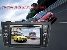 special car dvd Touch screen/TV/AM/FM/SD/USB/BLUETOOTH/IPOD/GPS for SUZUKI SWIFT 2011-2012 auto radio gps car dvd