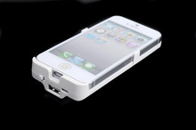 Rechargeable cell phone battery cover for 2800mah for iphone5
