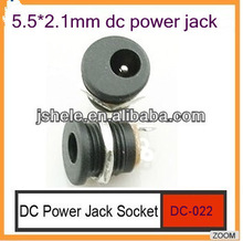 DC-022 2.1x5.5mm DC power jack dc socket panel mount