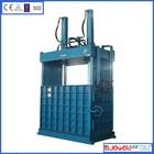 rubber press baling machine Car And Truck bailed scrap tyre