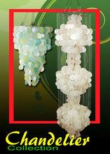 Capiz Chandeliers natural & colorful design manufacturer