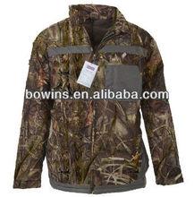 Outdoor winter camo hunter windstop jackets