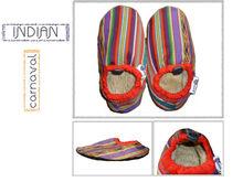 2013 Comfy and Warm designer slippers. Coalaz Indian Carnaval