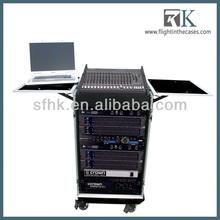 RK-DJ Audio Case Stage Custom Rack Case With Laptop Tray