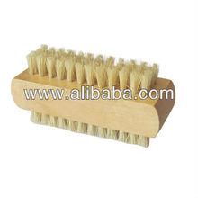 Mini Double Sided Long Bristle Nail Brush