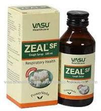 Zeal Sugar Free Cough Syrup-- Ayurvedic