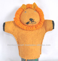 Puppets Toy made of Felt wool