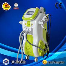 Salon/Spa/Clinic 9in1 portable e-light RF+Cavitation vacuum equipment whole sale
