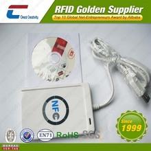 ISO14443A/B 13.56MHz portable NFC reader