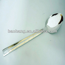 Hot sale delicate style decorative rice spoon pictures of cooking tools