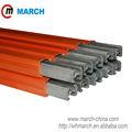 160amp-500amp aluminium. Edelstahl stromschiene März kranschiene