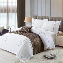 Pure Cotton 250T Sateen Light Color Hotel Duvet Cover Set