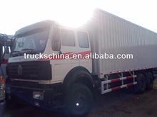 6x4 336hp Beiben/North Benz Lorry Truck Van Truck 45cbm