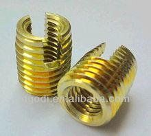 zinc plated steel sheet metal threaded inserts