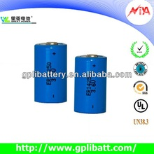 3.6V 1/2aa cell 14250 battery lithium