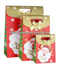 2013 fashion custom christmas brand paper gift bag