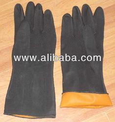 Acid gloves