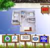 Family house/hotel/restaurant house prefabricated house low cost