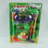 baby plastic golf toys set with plastic golf tee ball toys