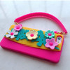 New Handbag Style Silicone Back Case Cover for Apple iPhone5 5s