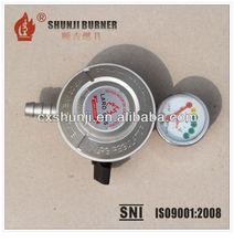 LPG Cooking Gas Regulator With Meter