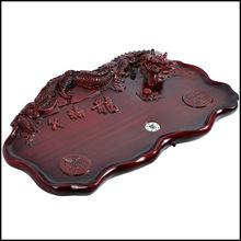 Unique Dragon Shape Resin Gongfu Tea Tray/teaboard