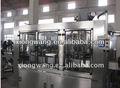 Pet o botellas de vidrio de gas/bebidas gaseosas bebidas carbonatadas de llenado de la máquina/línea de embotellado