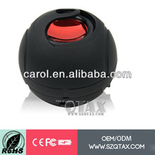 plastic cases of electronics with factory price OEM/ODM supports sd card latest portable mini speaker