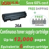 Factory price! 18000 pages, Hot sale! 36A toner cartridge for Canon CRG-313, honda life step