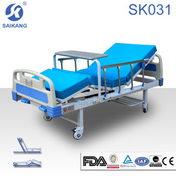 atificial leather examination couch,lateral tilt hospital bed