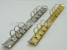 6ring metal clip& notebook metal clip