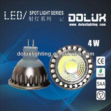 New style oem led spotlight gu10 3x2w