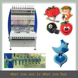 JY-B02 colorful soft pvc fridge magnet making machine