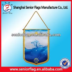 mini football/soccer team pennant flag