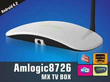 Facotry Supply ODM/OEM Amlogic-8726 MX Cortex A9 bluetooth skype 1080p xbmc dual core android smart tv box with camera