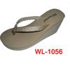 wholesale small quantity platform thong sandal shoe
