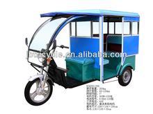 1200w 60v powerful motorized three wheeler rickshaw