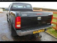 Toyota Hilux Invincible D/Cab Pick Up 3.0 D-4D 4WD 2007