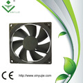 Black 100pcs/box 12 volts dc ventilador solar carro banheiro industrial ventilador de refrigeração para o painel de controle