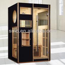 hemlock 2 person far infrared ray sauna cabin