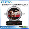 ZESTECH 7 inch Touch Screen Car DVD GPS for bmw mini cooper car dvd GPS/Radio/3G/Phonebook/iPod/mp4/mp5/USB/DVR/SWC