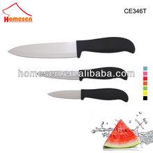 Homesen Antibacterial japanese santoku ceramic knifes set