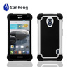 Rubber Shockproof Mobile Phone Protective Cover Case for LG Optimus F6 Hard Shell