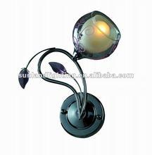Modern wall lamp ,glass wall light 0034CR-1W