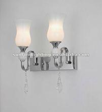 Modern wall lamp ,glass wall light AP8013-2W