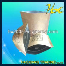 Selado saco de café com válvula one way válvula de café sacos de embalagem