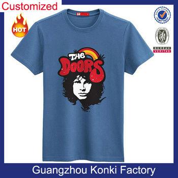 Fashion Original Mens 100% Cotton Dry Fit T-shirt