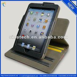 Custom design cover for ipad mini 2 retina ,for ipad mini case with card holder