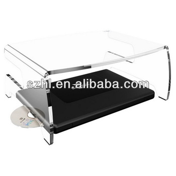 Clear acrylic monitor stand acrylic monitor/keyboard stand