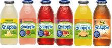 snapple de bebidas de jugo
